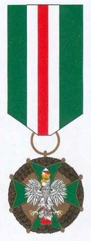 Medal of Merit for Border Guards, III Class Obverse