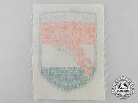 German Army Free Indian Legion Sleeve Insignia Reverse