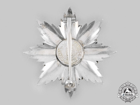 Order of the Roman Eagle, Grand Cross Breast Star, in Silver (with wreath)