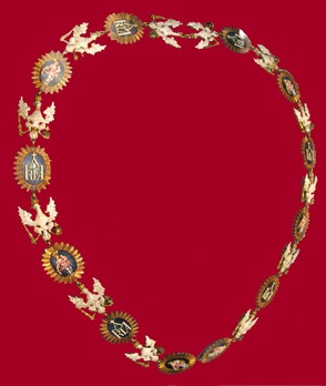 Order of the White Eagle, Collar (1764) Obverse