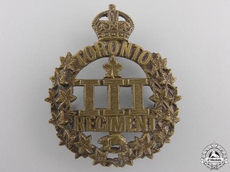 3rd Infantry Battalion Other Ranks Cap Badge (Separate) Obverse