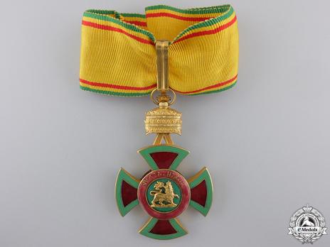 Order of Emperor Menelik II, Commander Obverse