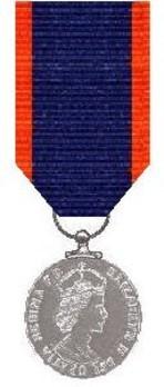 Silver Medal (1952-1961) Obverse