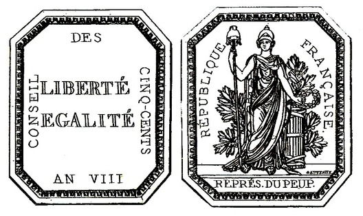"Medal (stamped ""GATTEAUX"") Obverse and Reverse"