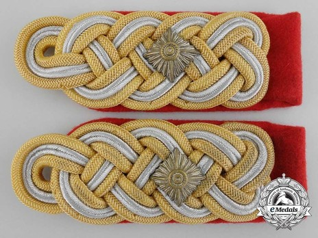 German Army Generalleutnant Shoulder Boards Obverse