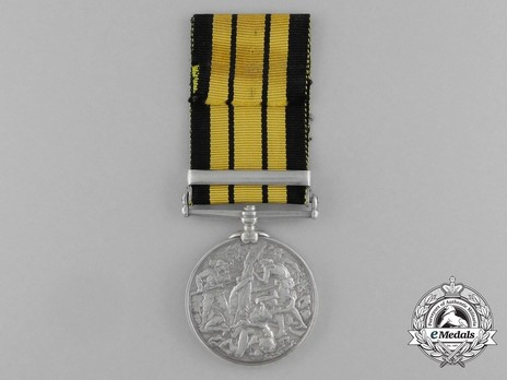 "Silver Medal (with ""WITU 1890"" clasp) Reverse"