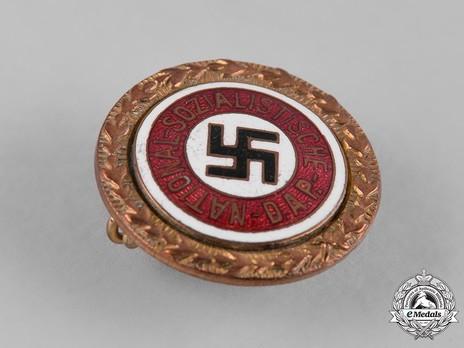 NSDAP Golden Party Badge, Small Version Obverse