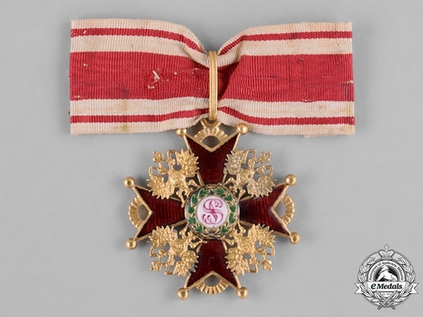 Order of Saint Stanislaus III Class Badge Obverse