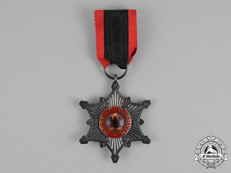 Order of the Black Eagle, Knight's Cross Obverse
