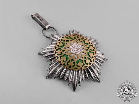 Order of Omayyad (Ummayad), I Class Grand Cordon Obverse