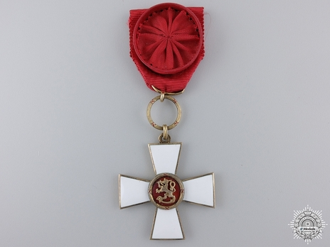 Order of the Lion of Finland, Civil Division, I Class Knight
