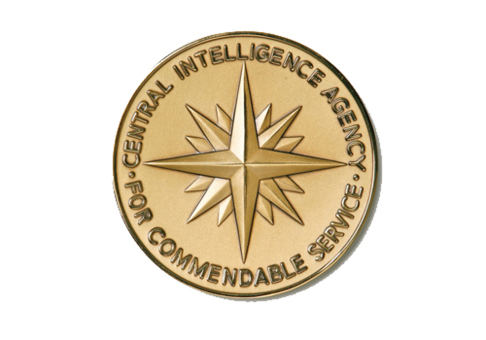 Intelligence commendation medal of the cia