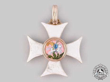 Order of Saint George, III Class Badge (in gold)