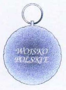 Polish Army Medal, II Class Reverse