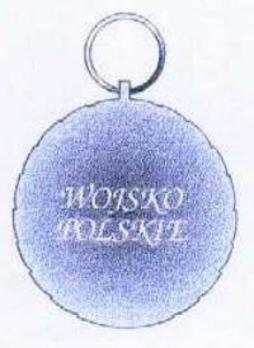 Polish Army Medal, II Class Reverse
