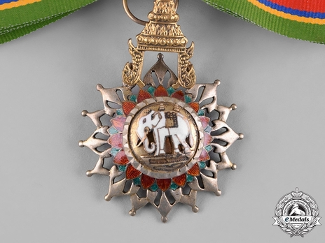 Order of the White Elephant Knight Commander Obverse