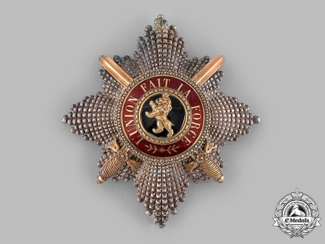 Order of Leopold, Grand Cross Breast Star (Military Division, 1832-1951) Obverse
