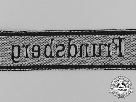 Waffen-SS Frundsberg Cuff Title Reverse