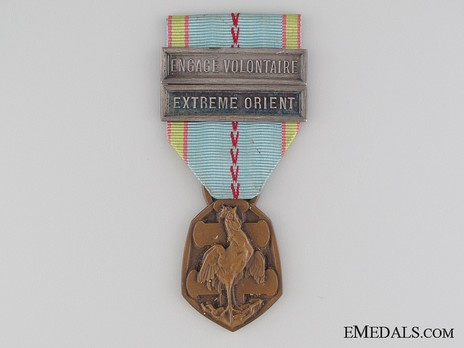 """Bronze Medal (with 2 clasps, stamped """"G. SIMON"""" """"F. JOSSE"""") Obverse"""