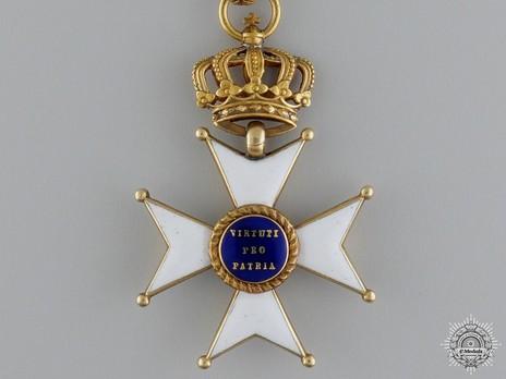 Commander Cross (Gold) Reverse