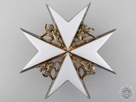 Knight/ Dame of Grace Breast Star (II Class) (with silver-gilt) Obverse
