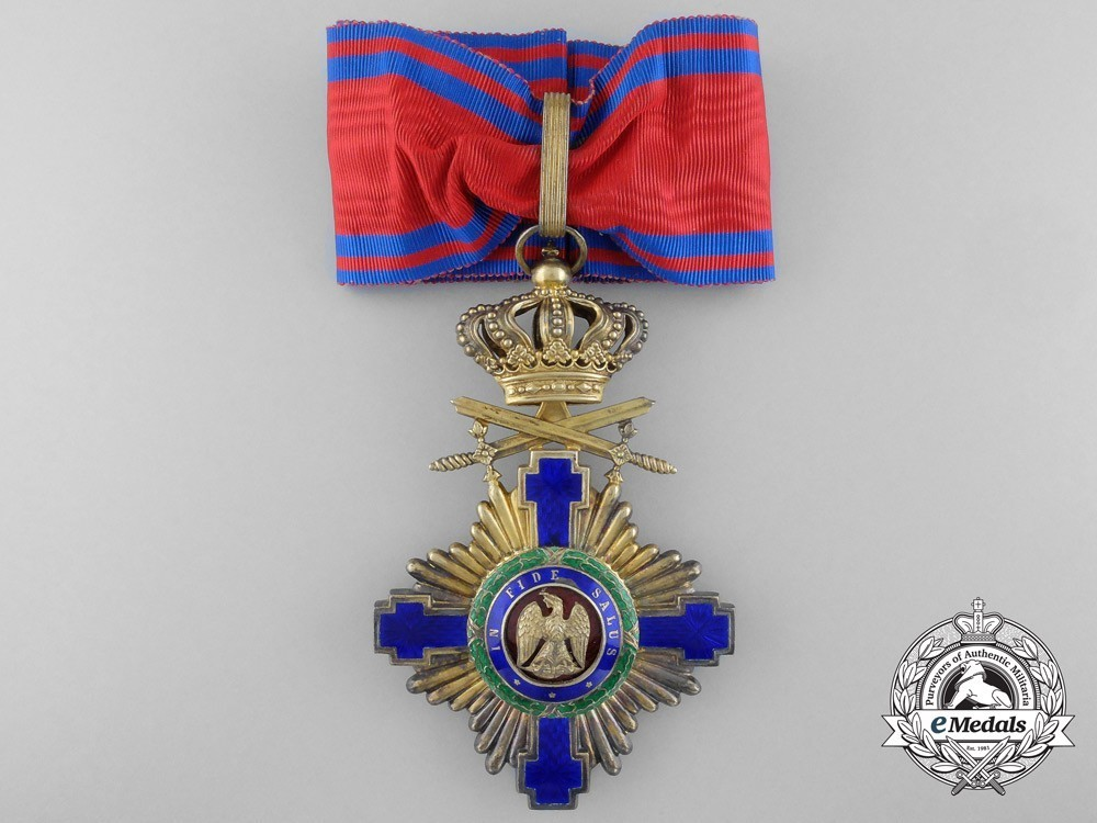 The+order+of+the+star+of+romania%2c+grand+officer%27s+cross+1