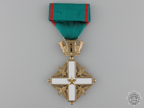 Order of Merit of the Italian Republic, Type I, Knight's Cross Reverse