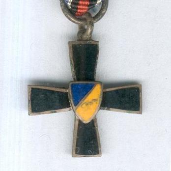 Miniature 12th Division Commemorative Cross Obverse