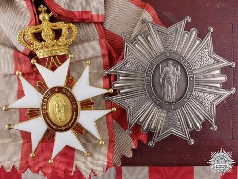 Order of Saint Joseph, Grand Cross Breast Star Set
