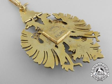 Order of Fidelity, Type II, Commander's Cross Reverse