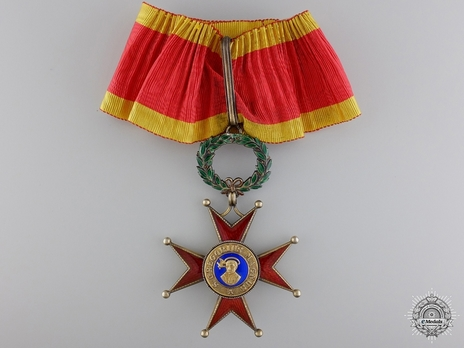 Order of St. George the Great Grand Officer (Civil Division) (with silver-gilt) Obverse