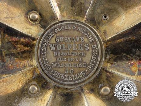 G. Wolfers Cartouche, Cuba, A Red Cross Order, Grand Cross Star