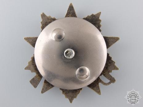 Order of Alexander Nevsky I Class Medal Reverse