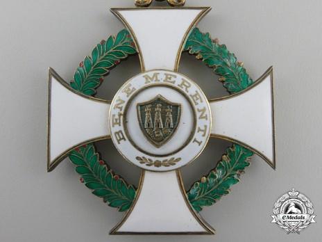 Order of Saint Agatha, Commander Reverse