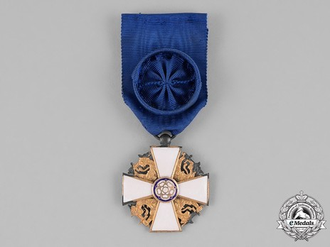 Order of the White Rose, Type II, Civil Division, I Class Knight Cross