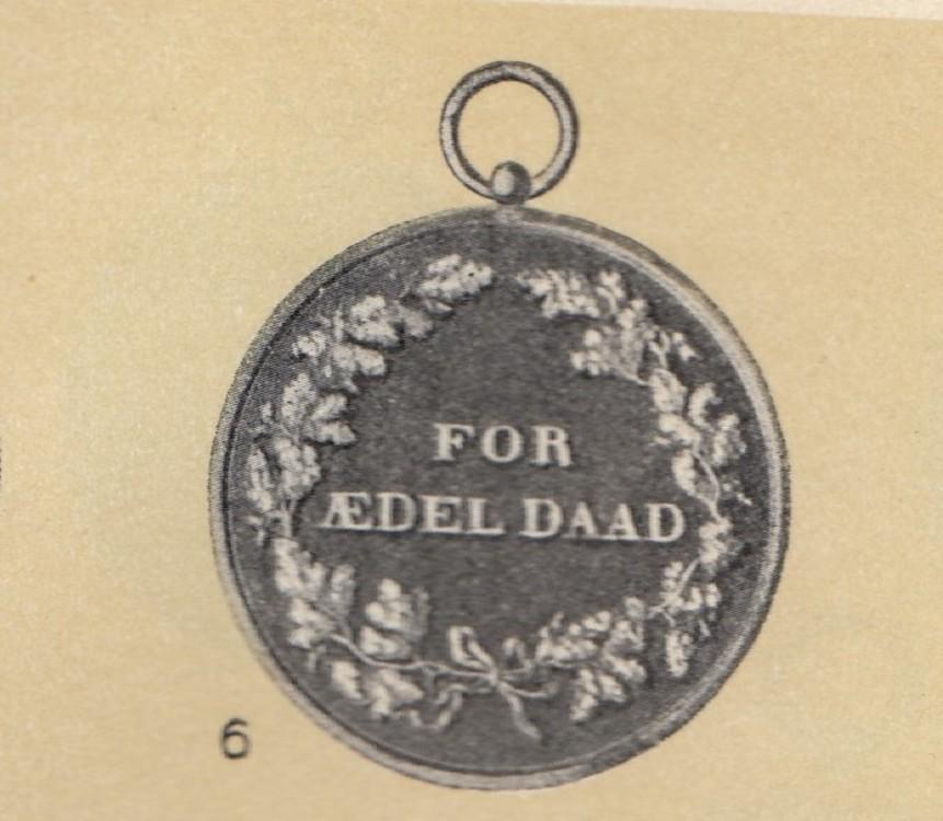 Denmark%2c+medal+for+heroic+deeds