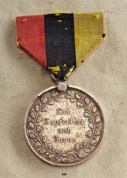 Campaign Decoration, 1815, Silver Medal