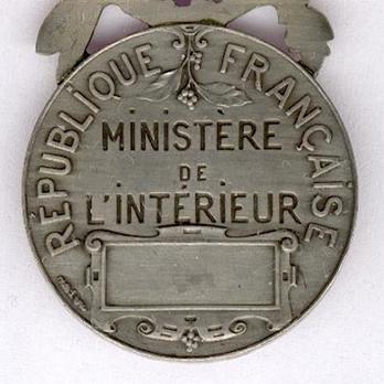 """Silver Medal (stamped """"L COUDRAY,"""" 1936-2013) Reverse"""