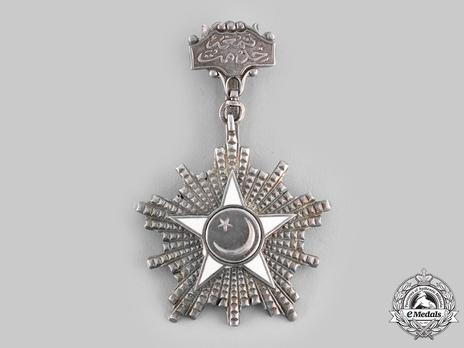 Order Of Service (Nishan-i-Khidmat), Type II, IV Class