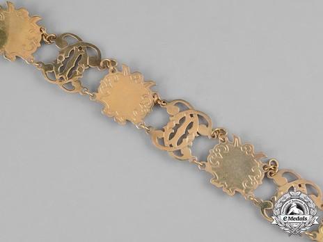 Order of Carol I, Collar Reverse Detail