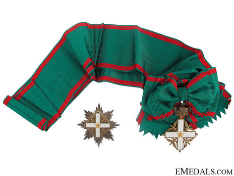 Grand Cross ObverseOrder of Merit of the Italian Republic, Type I, Grand Cross