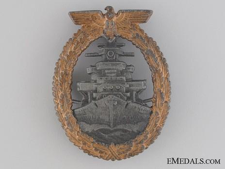 High Seas Fleet Badge, by Steinhauer & Lück Obverse