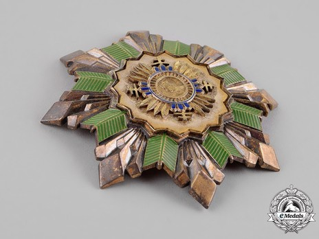 Order of Prince Pribina, I Class Grand Cross Breast Star Obverse