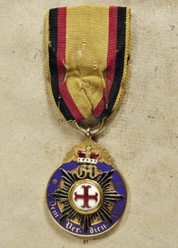 Medal for Art and Science, in Small Gold (in silver gilt, 1899-1918)