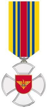 Cross for Distinguished Service, II Class Obverse