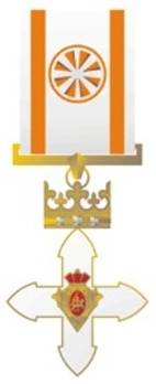 Order of Vytautas the Great, Officer's Cross Obverse
