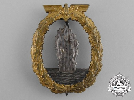 Minesweeper War Badge, by C. Schwerin (in tombac) Obverse