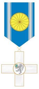 Order of Police Merit, I Class Cross Obverse
