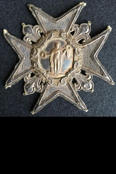Embroidered Grand Cross Breast Star