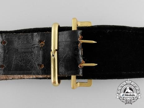 Kriegsmarine Officer's Undress Belt Strap Reverse